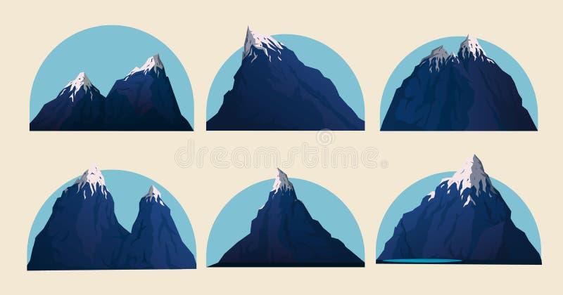 Illustration de vecteur de montagne illustration libre de droits
