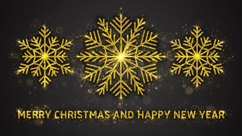 Illustration de vecteur de Noël et de nouvelle année illustration libre de droits