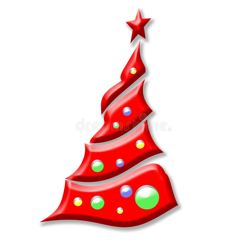 Illustration de vecteur Noël ma version de vecteur d'arbre de portefeuille image stock