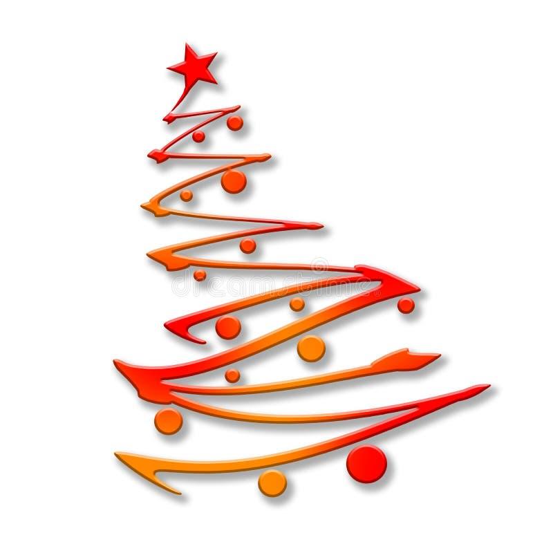 Illustration de vecteur Noël ma version de vecteur d'arbre de portefeuille image libre de droits