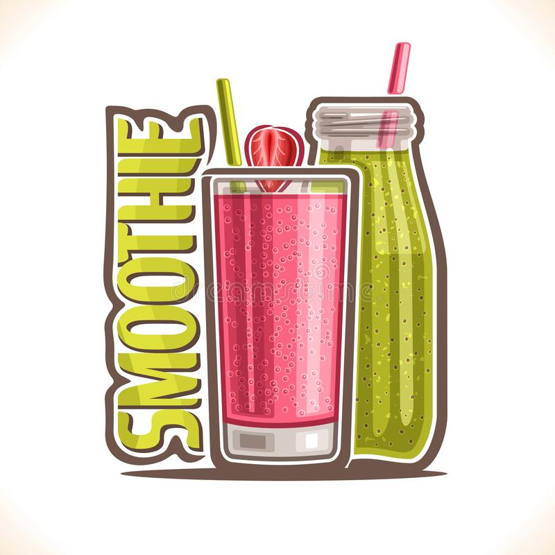 Illustration de vecteur de Smoothie de fruit illustration de vecteur