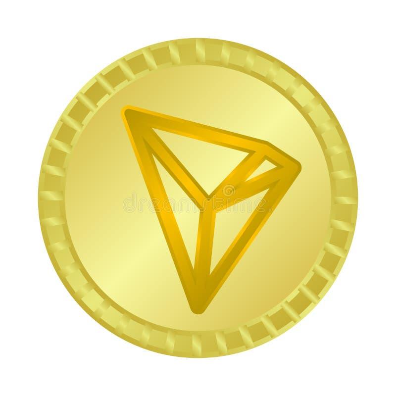 Illustration de vecteur de symbole de cryptocurrency et d'argent Placez de l'icône de vecteur de cryptocurrency et d'affaires pou illustration libre de droits