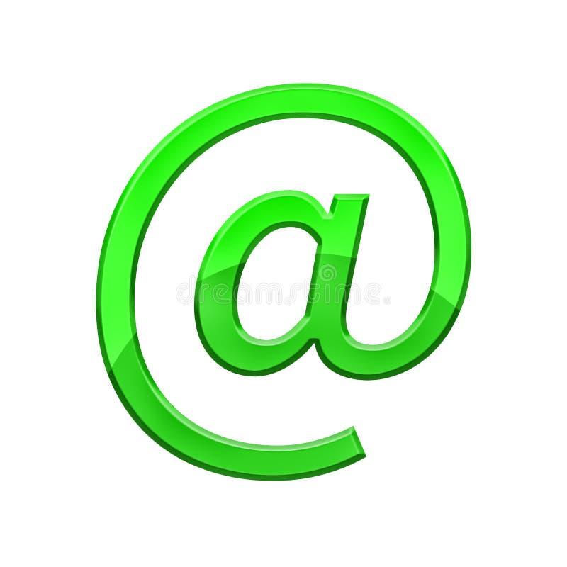 Illustration de vecteur Symbole d'email image stock
