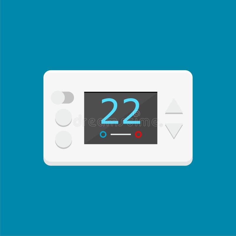 Illustration de vecteur de thermostat de Digital illustration stock