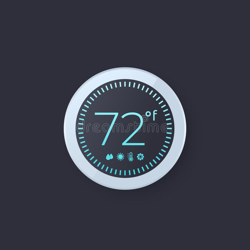 Illustration de vecteur de thermostat de Digital illustration libre de droits