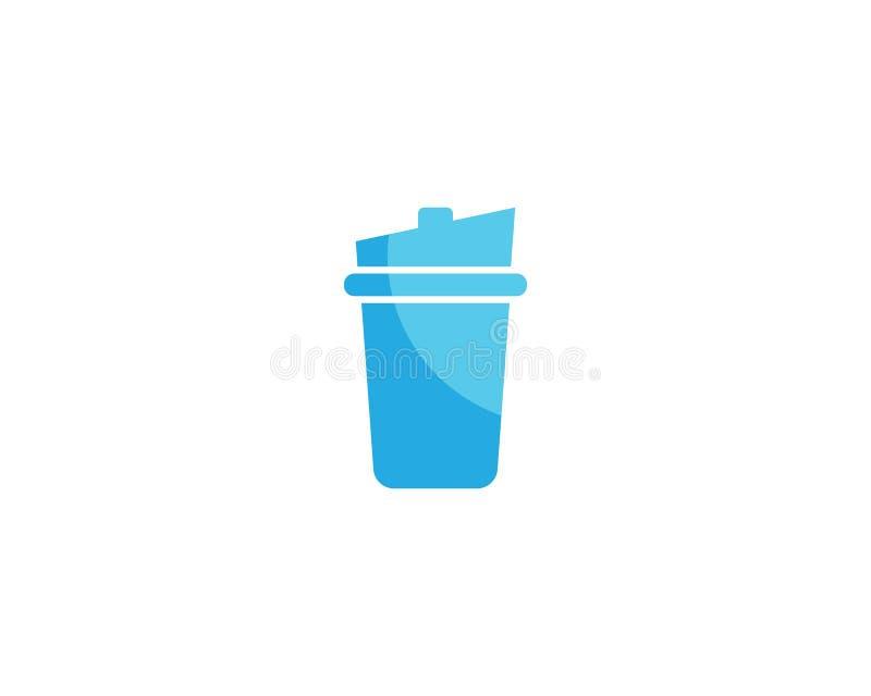 Illustration de vecteur de verre à boire illustration stock