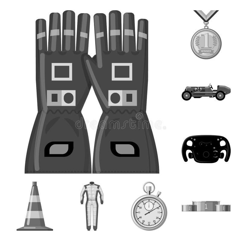 Illustration de vecteur de voiture et de symbole de rassemblement Collection de l'illustration courante de vecteur de voiture et  illustration libre de droits