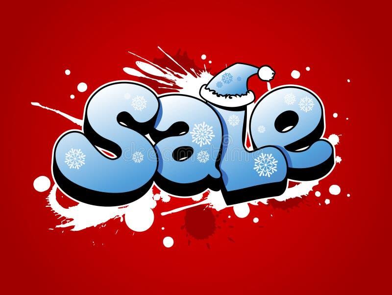 Illustration de vente de Noël. illustration stock