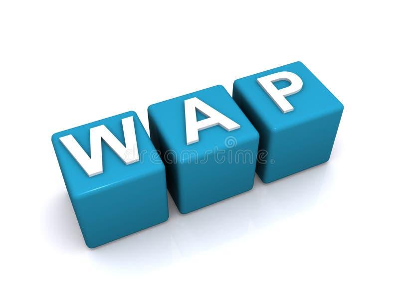Illustration de WAP illustration libre de droits