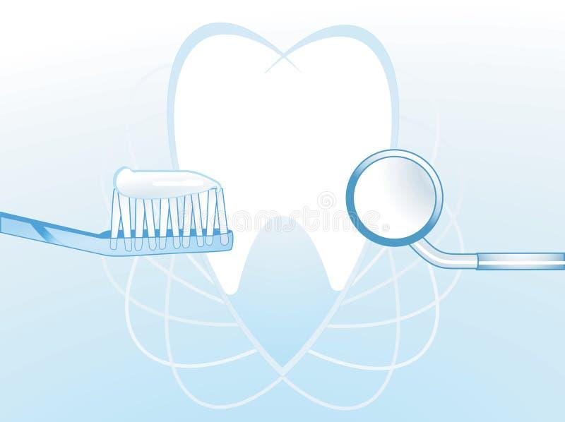 Illustration dentaire d'hygiène   illustration de vecteur