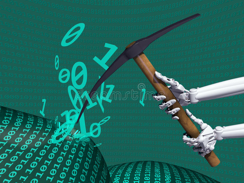Download Data Mining Information stock illustration. Image of knowledge - 29814601