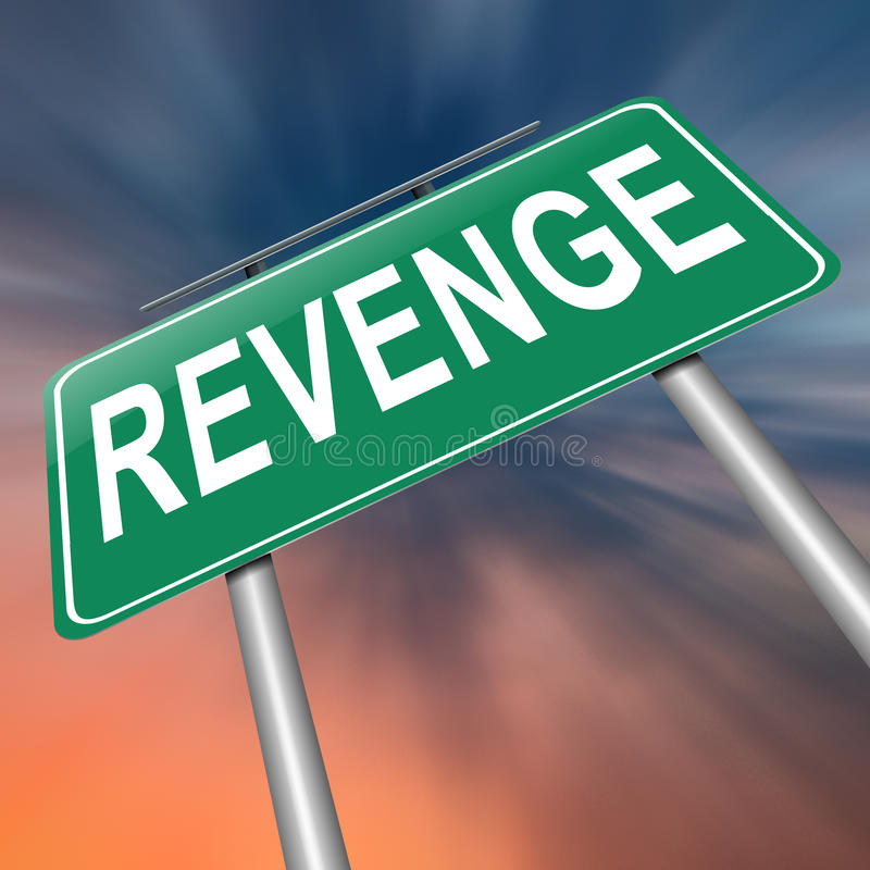 Revenge Concept. Royalty Free Stock Photography