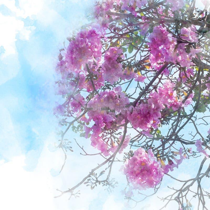 Illustration der Blütenblume vektor abbildung