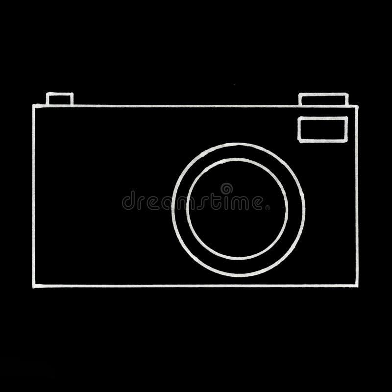 Illustration der Kamera stockbilder