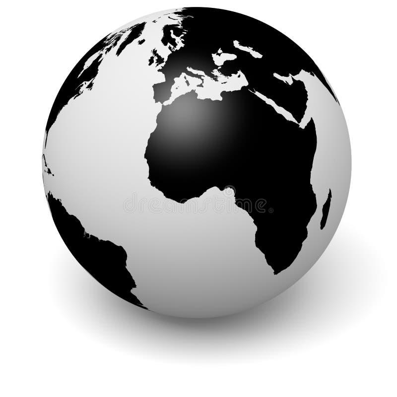 Illustration der Kugel 3D stock abbildung
