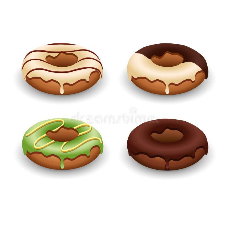 Illustration des Donuts lizenzfreie stockfotografie