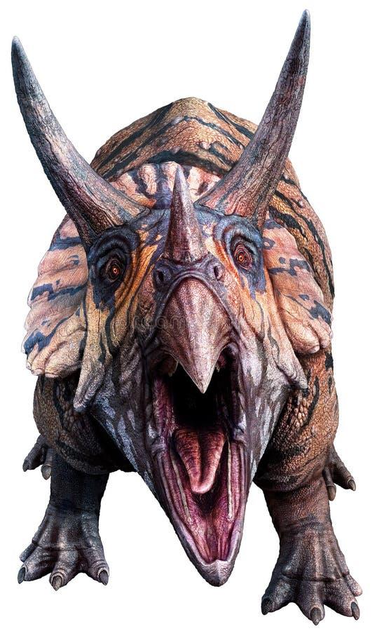Illustration des Triceratops 3D lizenzfreie abbildung