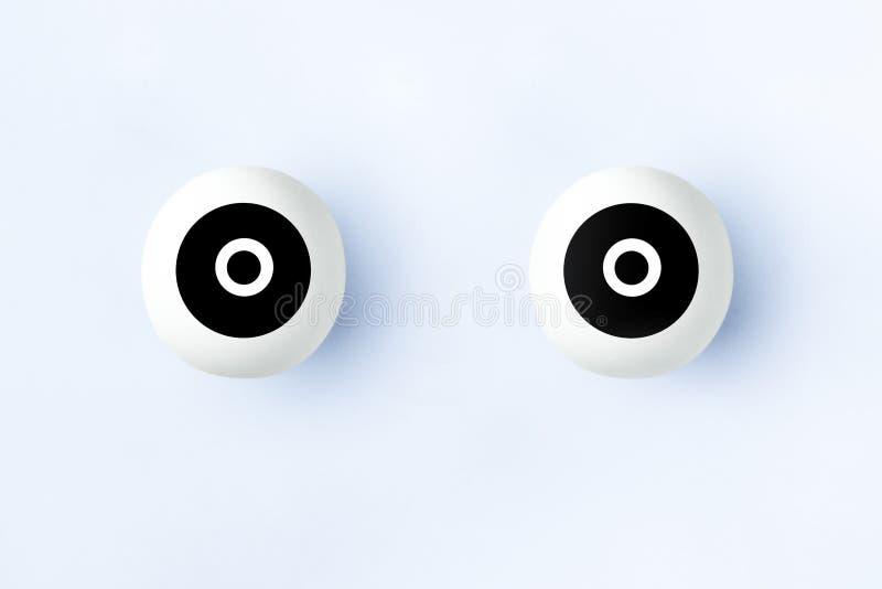 Illustration des yeux artificiels image libre de droits