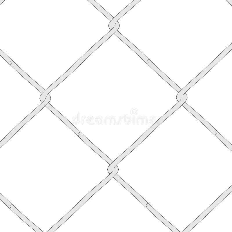 Illustration des Zauns (Geländer) lizenzfreie abbildung