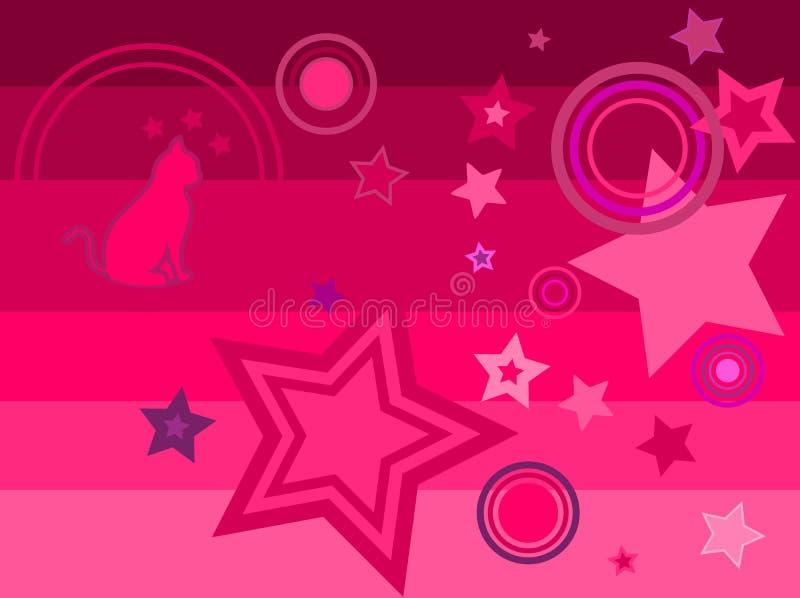 Illustration of a disco karaoke dance party stock illustration