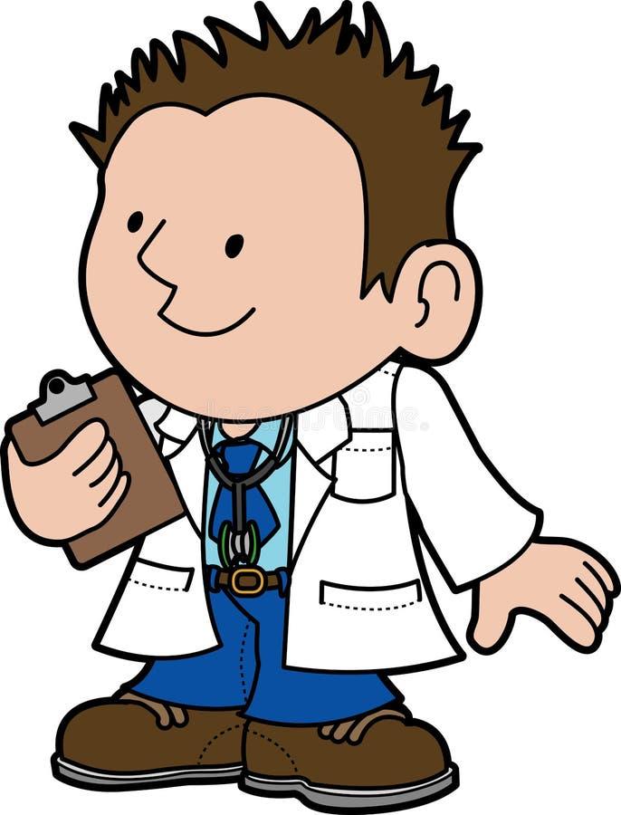 Illustration of doctor vector illustration