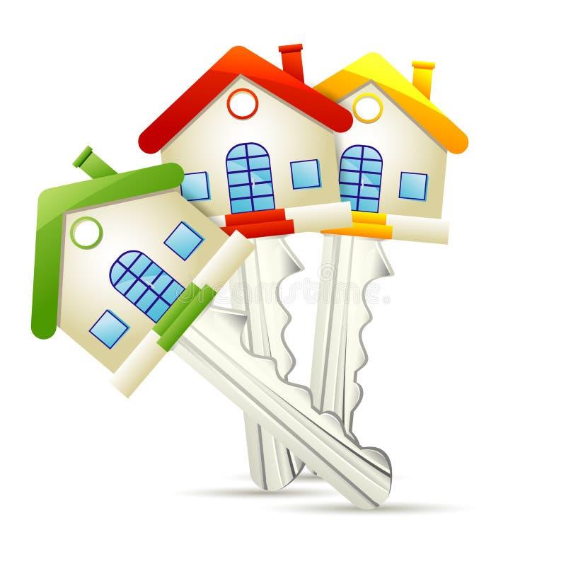 Dream Home key stock illustration