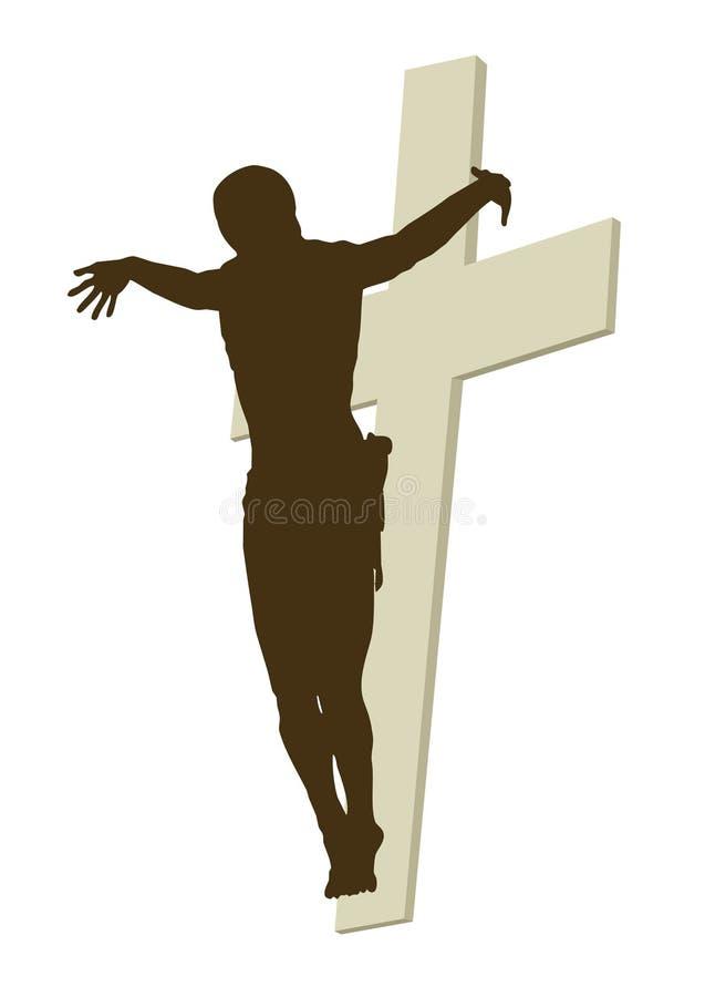 Illustration du Christ illustration stock