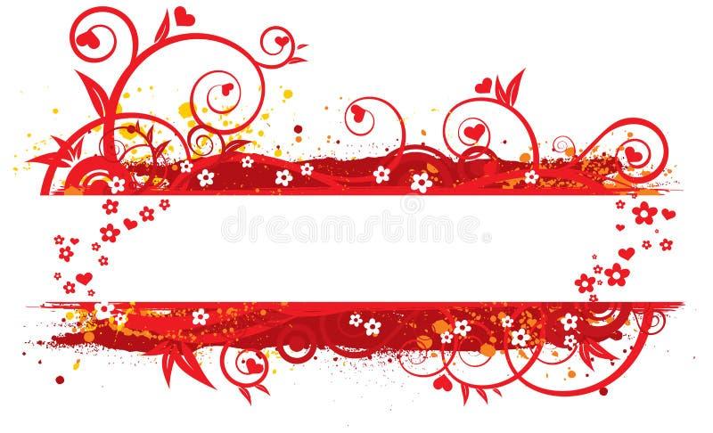 Illustration du jour de Valentine illustration libre de droits