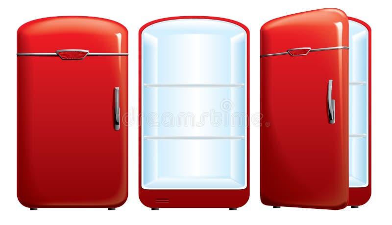 Illustration du réfrigérateur images stock
