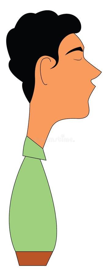 Illustration du vecteur coiffure noire illustration de vecteur