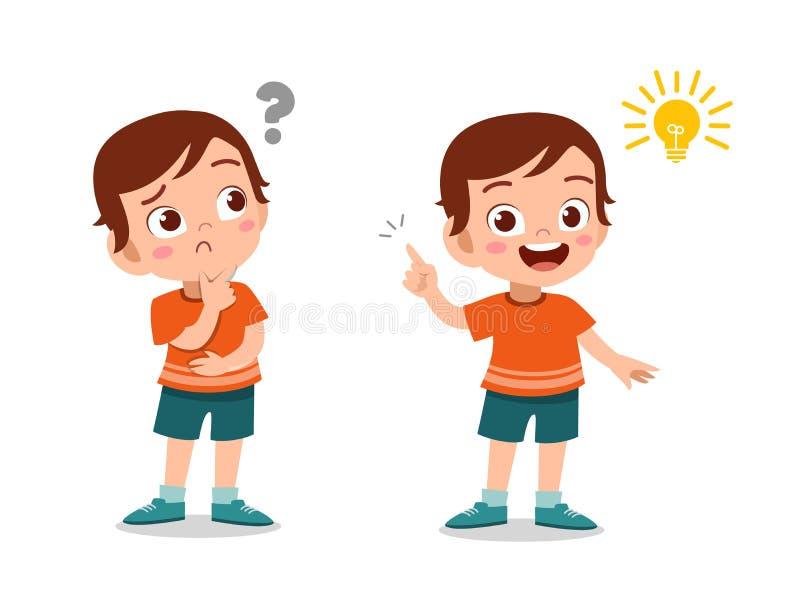 illustration du vecteur d'idées pour les enfants illustration de vecteur