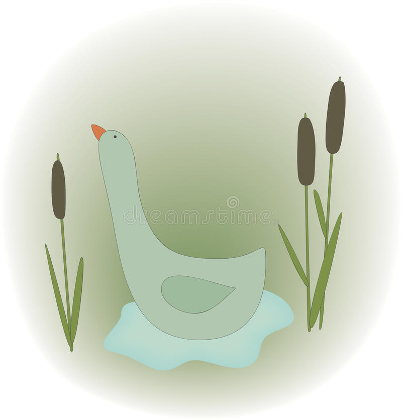Illustration Of Duck Stock Photos