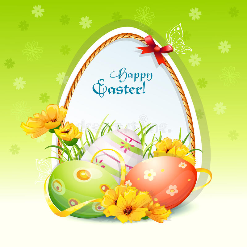 Illustration For Easter Day Stock Vector
