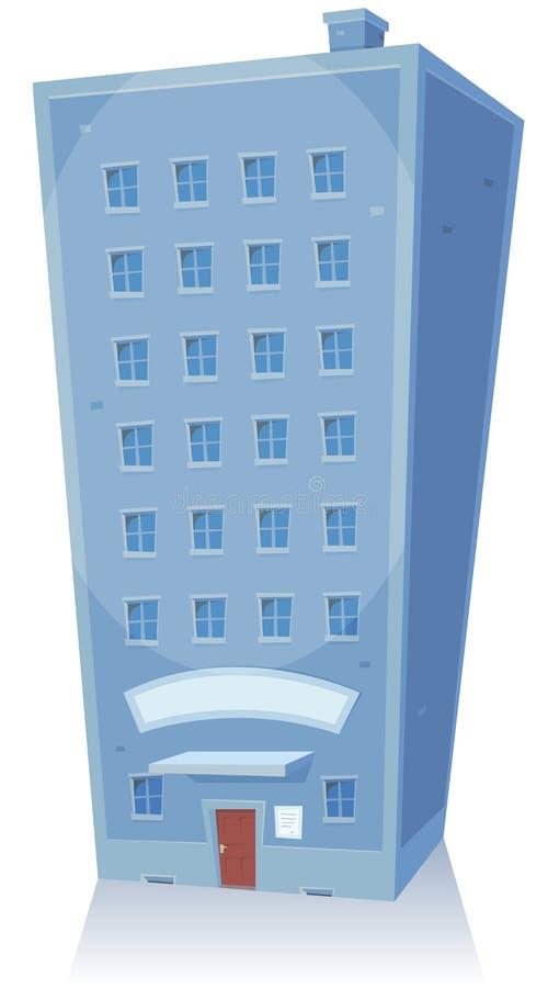 Karikatur-Gebäude vektor abbildung