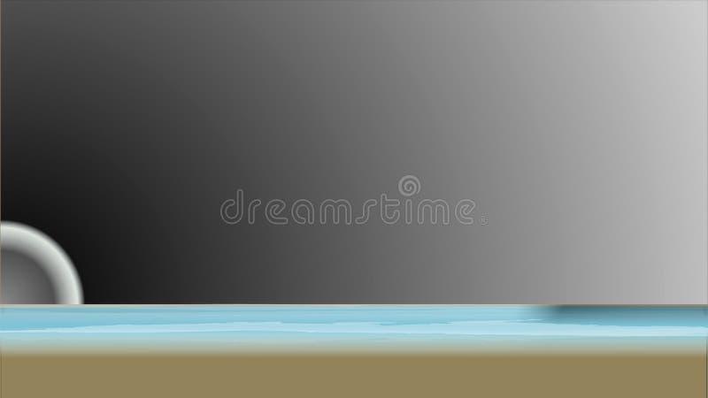 Illustration eines Hintergrundes stock abbildung