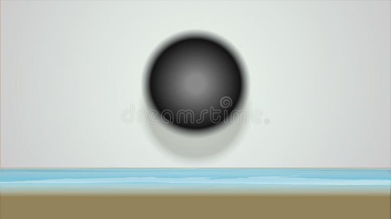 Illustration eines Hintergrundes lizenzfreie abbildung