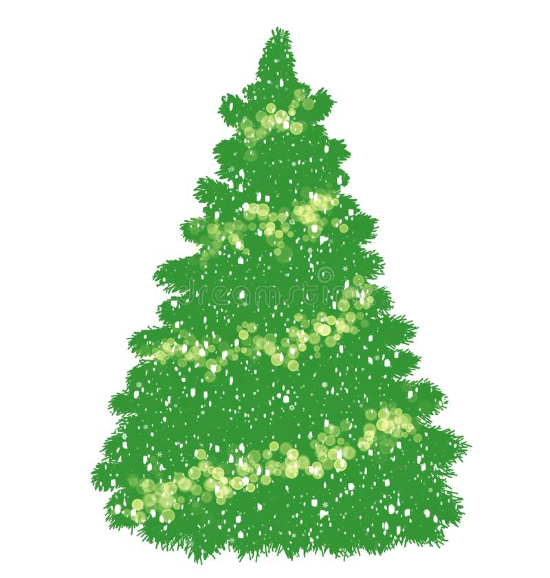 Christmas tree. stock photography