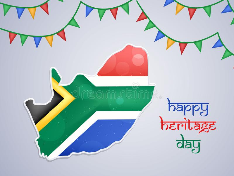 Illustration of South Africa Heritage Day background. Illustration of elements of South Africa Heritage Day background vector illustration