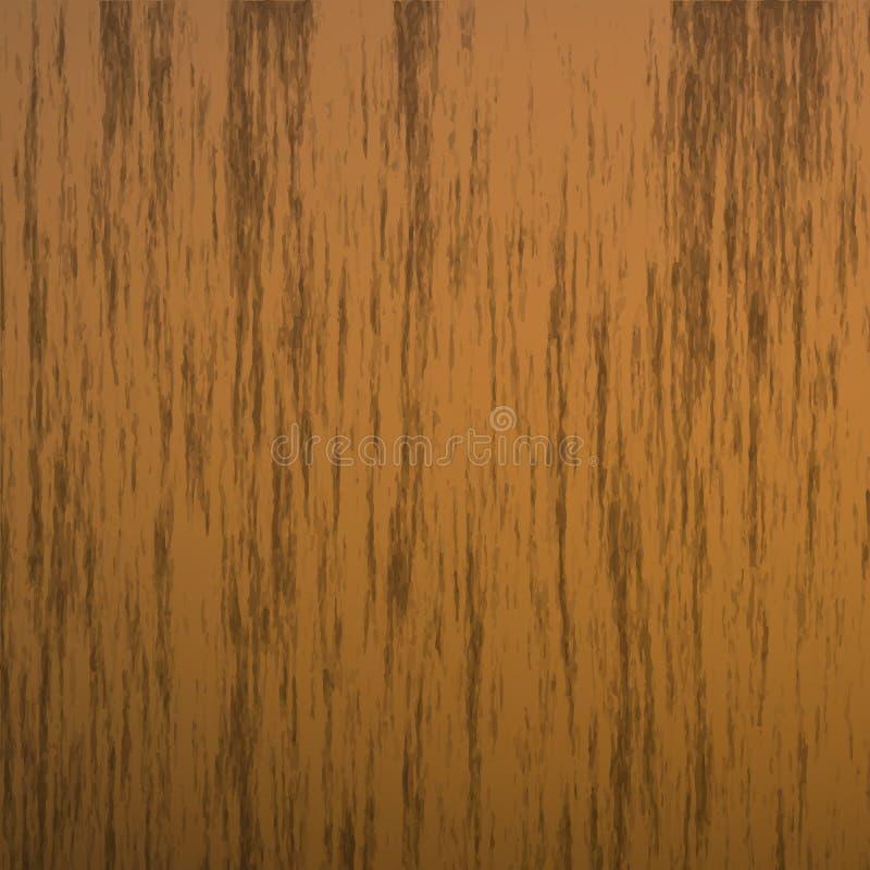 illustration en bois sans couture réaliste de vecteur de texture, fond de bois dur illustration libre de droits