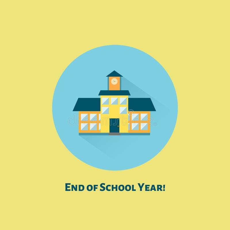 End of school year royalty free stock photos