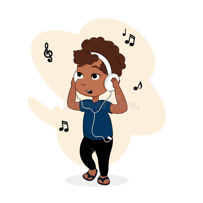 Illustration eps10 de vecteur de personnage de dessin animé de bébé photographie stock libre de droits