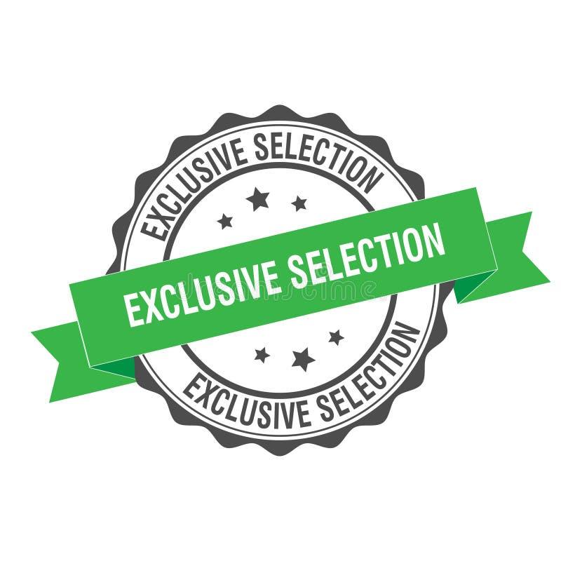 Illustration exclusive de timbre de sélection illustration de vecteur