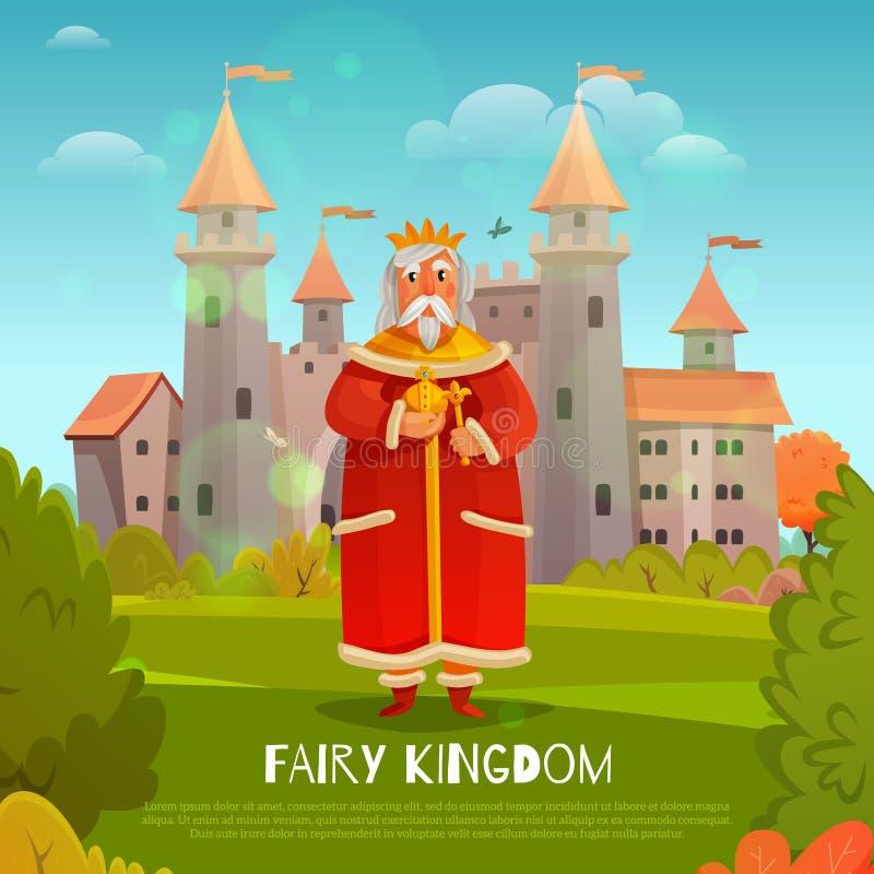 Illustration féerique de royaume illustration de vecteur
