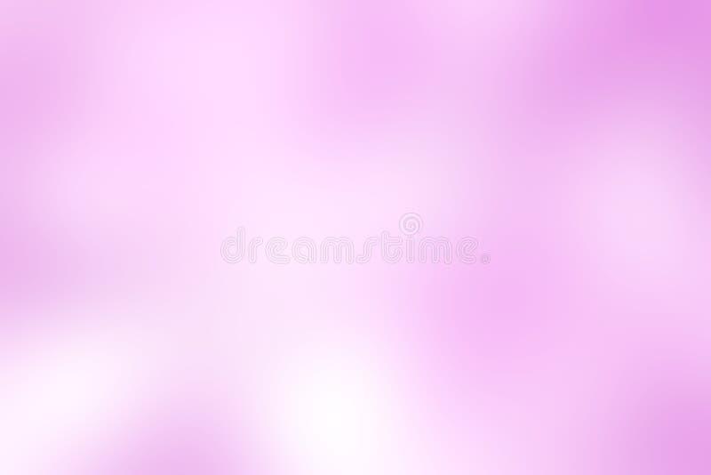 Illustration för bakgrund för suddig ton för lutning purpurfärgad färgrik pastellfärgad mjuk för bakgrund för skönhetsmedelbanera stock illustrationer