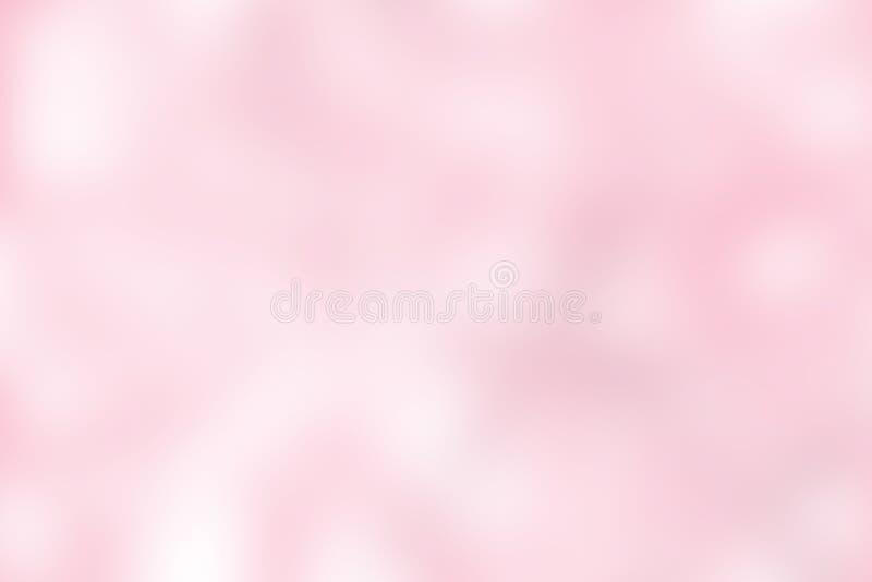 Illustration för bakgrund för suddig ton för lutning rosa färgrik pastellfärgad mjuk för bakgrund för skönhetsmedelbaneradvertizi vektor illustrationer