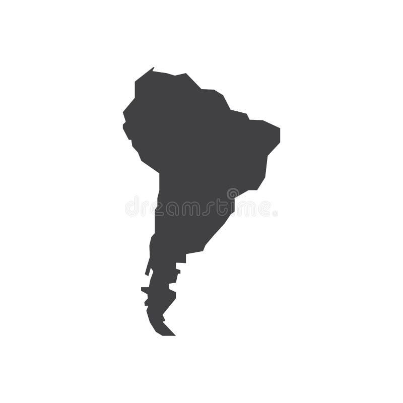 Illustration för Brasilien översiktskontur vektor illustrationer