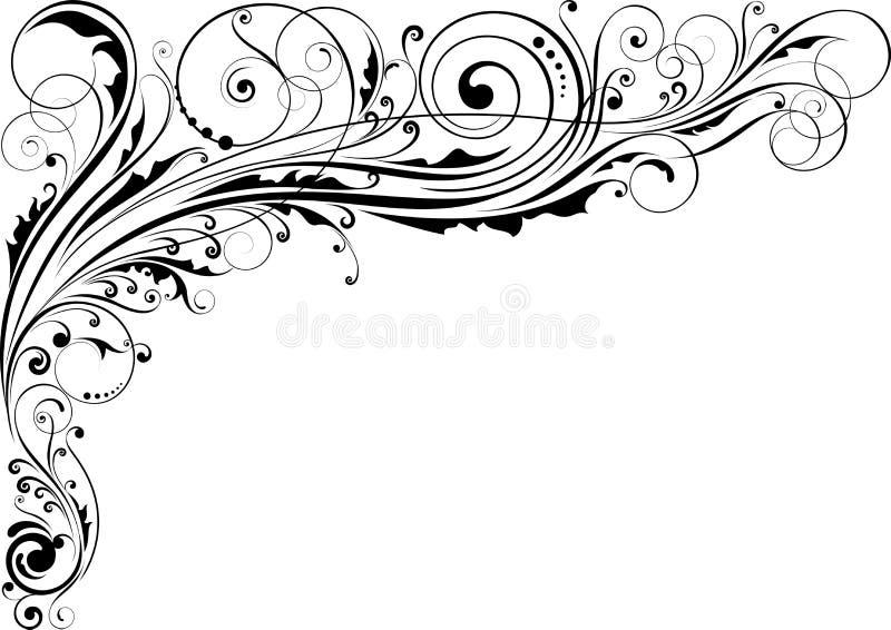 illustration för design för bakgrundbakgrundskort blom- vektor illustrationer