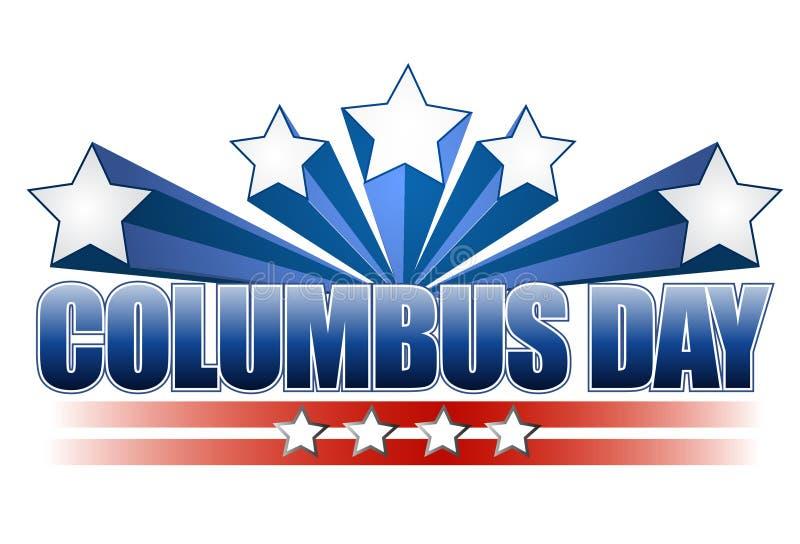 illustration för design för columbus dag vektor illustrationer