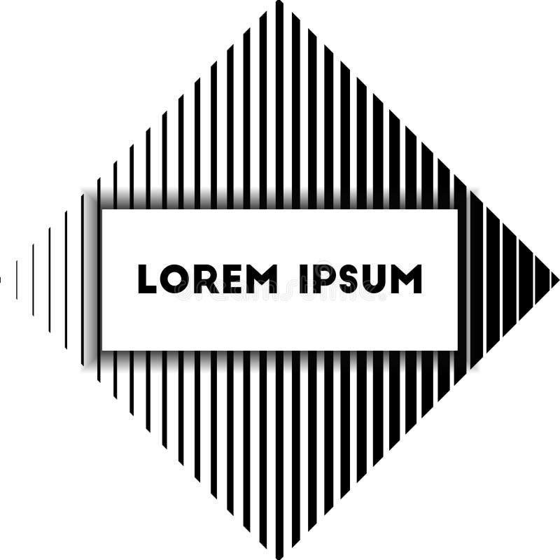 Illustration för design för presentationsmalllägenhet för advertizing för marknadsföring för rengöringsdukdesign stock illustrationer