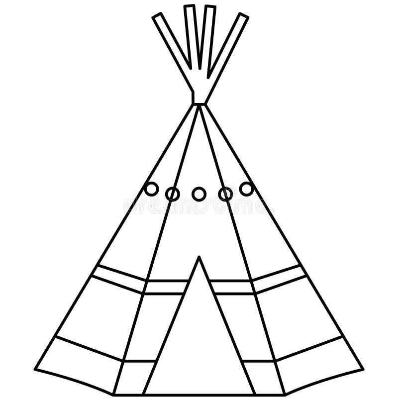 Illustration för eps för tipitipivektor vid crafteroks royaltyfri illustrationer